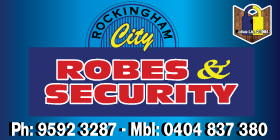 *Rockingham City Robes & Security - Robes Rockingham phone 9592 3287