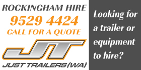 *Rockingham Hire - Phone 9529 4424 - Hire Services and Equipment Rockingham