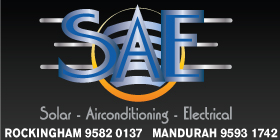 "*SAE Solar, Airconditioning & Electrical - Phone <a href=""tel:95931742"">9593 1742</a> - Electricians Rockingham"