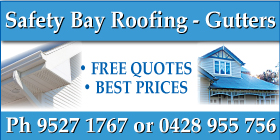 *Safety Bay Roofing - Phone 9527 1767 - Roofing Safety Bay Rockingham
