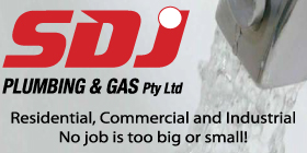 *SDJ Plumbing & Gas SAME DAY SERVICING ON EMERGENCIES - COMPETITIVE PRICES