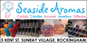 *SEASIDE AROMAS  ❤️  AFTERPAY AVAILABLE - LARGE SELECTION OF STOCK INSTORE - Gift Shop Rockingham Spiritual Giftware Rockingham AFTERPAY AVAILABLE - HUGE RANGE OF PRODUCTS IN STORE OR SHOP ONLINE