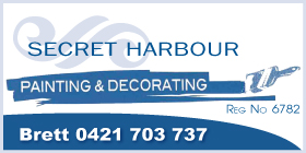 *Secret Harbour Painting & Decorating - Phone 0421 703 737 - Painters and Decorators Secret Harbour Rockingham