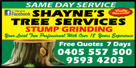 *Shayne's Tree Services - Treelopping Port Kennedy Rockingham