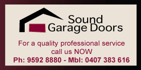 Sound Garage Doors - EMERGENCY REPAIRS MOBILE EFTPOS AFFORDABLE AND RELIABLE