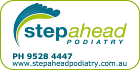 *Stepahead Podiatry - Phone 9528 4447 -  Foot Care and Orthotics Rockingham