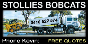 *Stollies Bobcats - Earthmoving Shoalwater Rockingham