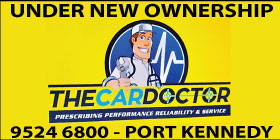 *The Car Doctor NEW OWNER MANAGER - ROCKINGHAM CAR MECHANICS BRAKE AND CLUTCH - AUTOMOTIVE SERVICE PORT KENNEDY BALDIVIS CLUTCH AND BRAKE SERVICE & CAR SERVICING COURTESY CAR - COMPLIMENTARY CAR WASH WITH EVERY SERVICE!