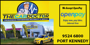 *THE CAR DOCTOR - OPENPAY AVAILABLE  -  SERVICING START FROM ONLY $135 - AUTOMOTIVE SERVICE PORT KENNEDY CAR SERVICING COURTESY CAR