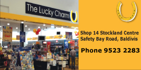 *The Lucky Charm Baldivis - Phone 9523 2383 - Newsagent Baldivis