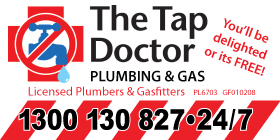 *The Tap Doctor - Gas Services Rockingham