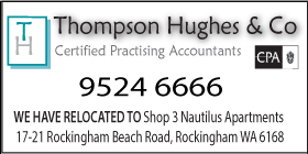 *Thompson Hughes & Co - ROCKINGHAM ACCOUNTANTS AND TAX SPECIALISTS - RELOCATED TO ROCKINGHAM BEACH ROAD, ROCKINGHAM