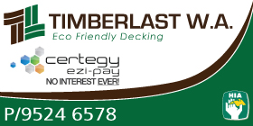*Timberlast W.A. Eco Friendly Decking - Phone 9524 6578 - Building Renovations Port Kennedy Rockingham