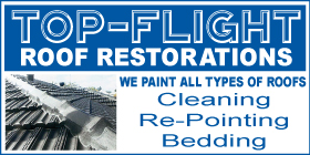 *Top-Flight Roof Restorations - Phone 9581 4469 - Roofing Rockingham Mandurah Kwinana