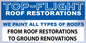 *Top-Flight Roof Restorations - Roof Coating Mandurah Rockingham - ROOF SERVICES & HOUSE RENOVATIONS