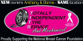 *Totally Independent Tyre Service - Phone 9524 5400 - Brake and Clutch Service Port Kennedy Rockingham