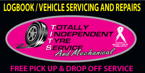 TOTALLY INDEPENDENT TYRE SERVICE AND MECHANICAL - WE ARE OPEN FOR BUSINESS WITH ALL PRECAUTIONS IN PLACE - FREE PICK UP AND DROP OFF SERVICE LOGBOOK - VEHICLE SERVICING AND REPAIRS