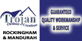 *Trojan Outdoor Creations - Sheds Mandurah - Phone 9535 8246