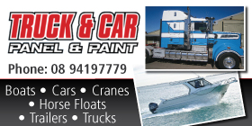 *Truck and Car Panel and Paint - INDUSTRIAL EQUIPMENT CRANE TRUCKS INDUSTRIAL PANEL & PAINT ROCKINGHAM PERTH ALL AREAS