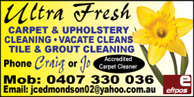 *Ultra Fresh Carpet and Upholstery Cleaning - Carpet Cleaning Rockingham