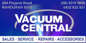 *Vacuum Central - Vacuum Cleaners: Parts - Service - Repairs Mandurah