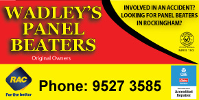 *Wadleys Panel Beaters - ORIGINAL OWNERS - NO.1 SMASH REPAIRER
