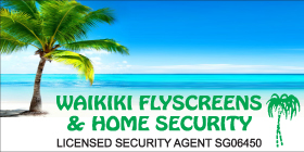 *Waikiki Flyscreens & Home Security - Phone 9592 3950 - Security Doors and Screens Rockingham