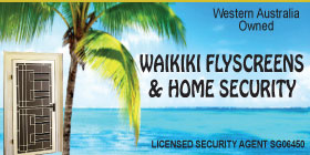 *Waikiki Flyscreens & Home Security - FLYSCREENS CUSTOM MADE ROCKINGHAM - FREE MEASURE AND QUOTE