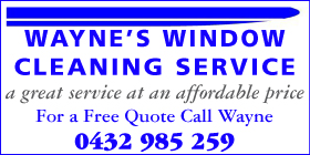 *Wayne's Window Cleaning Service -  Residential Window Cleaning Great Service Affordable Price