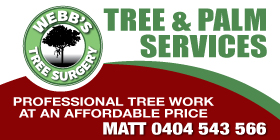 "*Webb Tree Surgery - Phone <a href=""tel:0404543566"">0404 543 566</a> - Garden Services Rockingham"