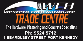 Western Corp Hardware - Phone 9524 5712 - PORT KENNEDY