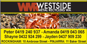 WESTSIDE METAL RECYCLERS WA - OPEN FOR BUSINESS AS USUAL - Machinery Scrap Rockingham