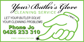 *Your Butler's Glove Cleaning Service - Cleaning Services Safety Bay Rockingham