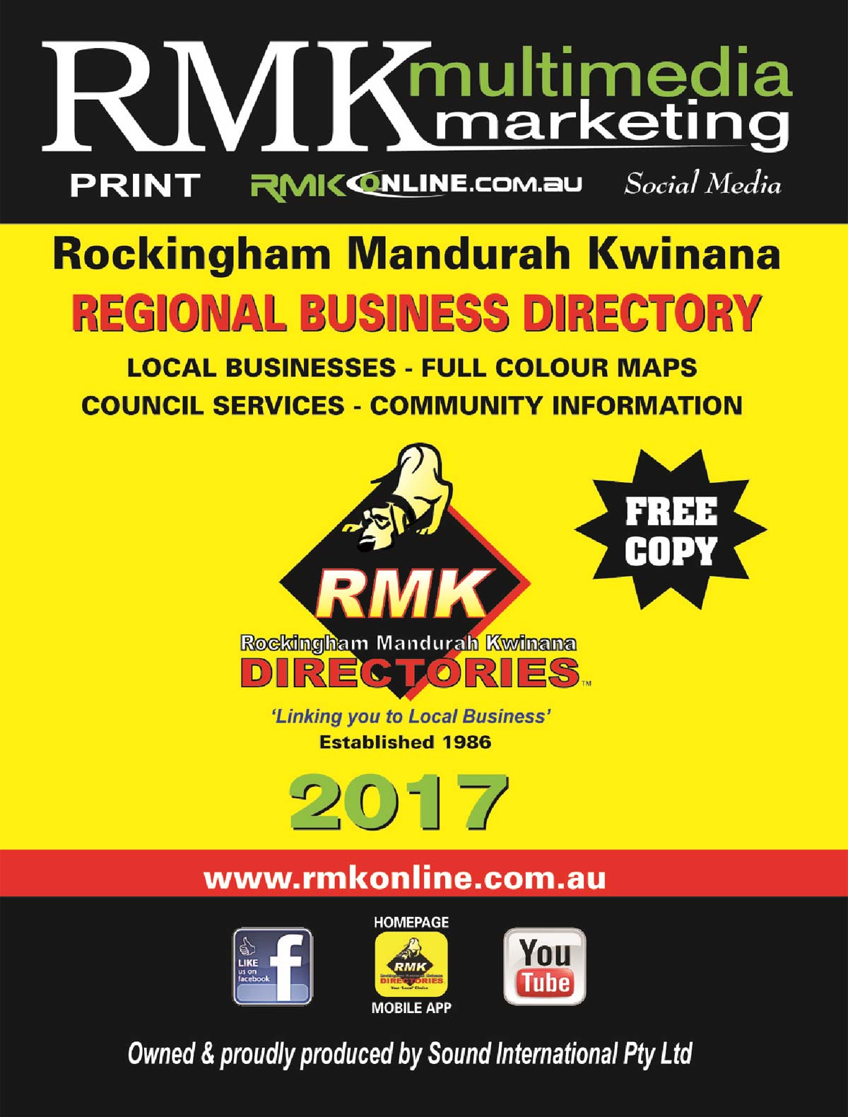 RMK Directories 2015 Book Covers